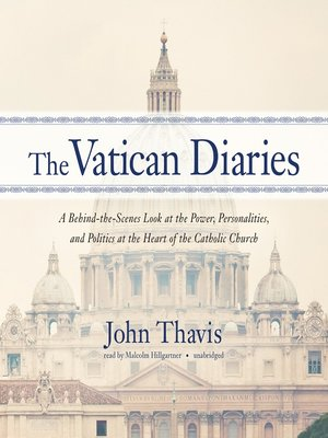 cover image of The Vatican Diaries