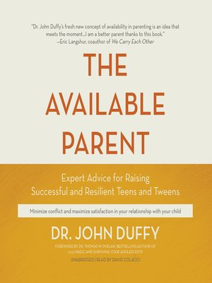 cover image of The Available Parent