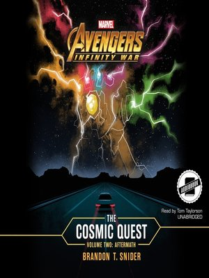 cover image of Marvel's Avengers: Infinity War, The Cosmic Quest, Volume 2