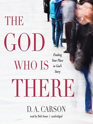 cover image of The God Who Is There