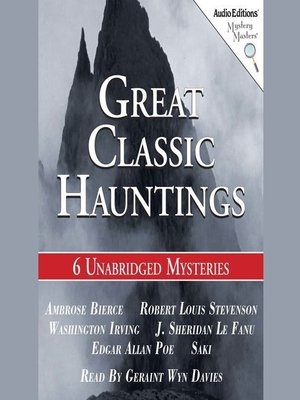 cover image of Great Classic Hauntings