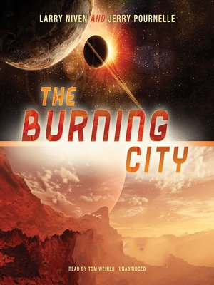 cover image of The Burning City