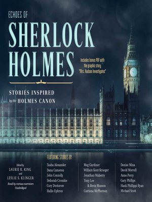 cover image of Echoes of Sherlock Holmes