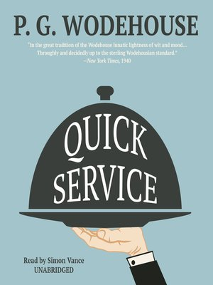 cover image of Quick Service