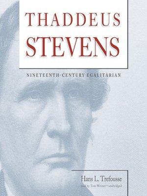 cover image of Thaddeus Stevens