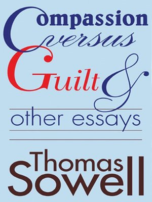 cover image of Compassion Versus Guilt & Other Essays