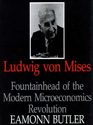 cover image of Ludwig von Mises