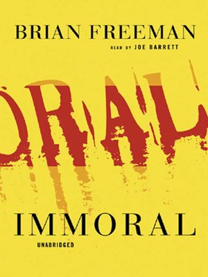 cover image of Immoral