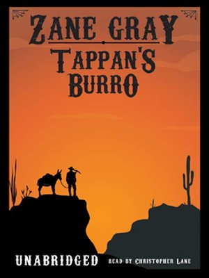 cover image of Tappan's  Burro
