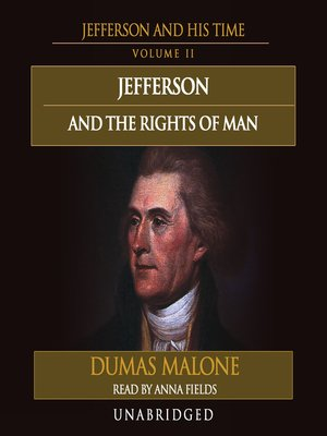 cover image of Jefferson and the Rights of Man