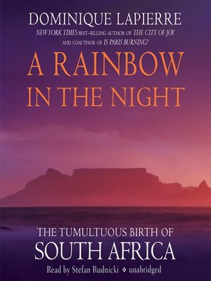 cover image of A Rainbow in the Night