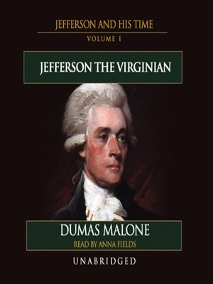 cover image of Thomas Jefferson and His Time, Volume I
