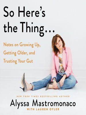 cover image of So Here's the Thing...