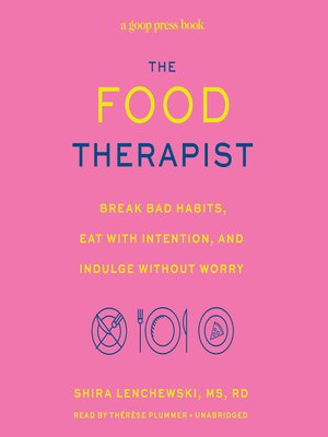 cover image of The Food Therapist