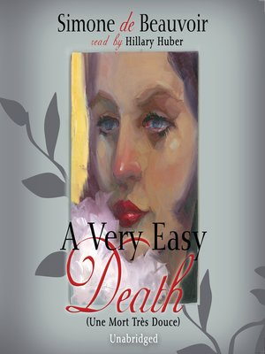 cover image of A Very Easy Death
