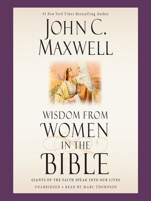 cover image of Wisdom from Women in the Bible