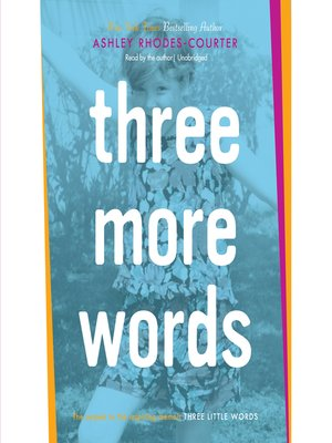 cover image of Three More Words