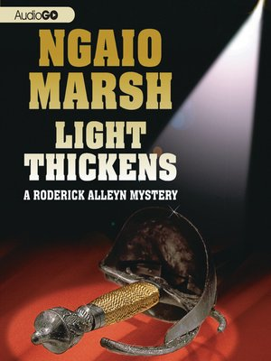 cover image of Light Thickens