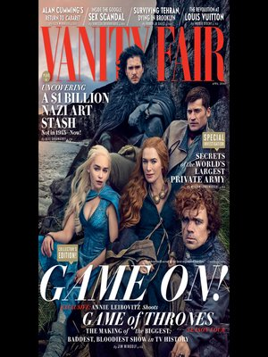 cover image of Vanity Fair: April 2014 Issue