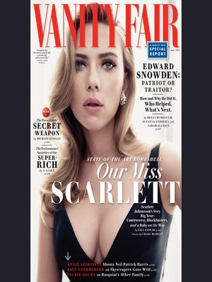 cover image of Vanity Fair: May 2014 Issue