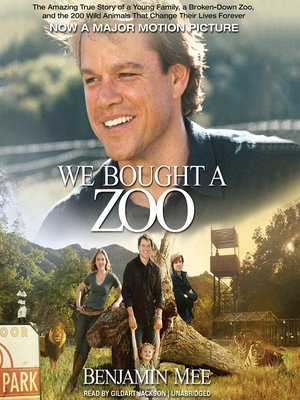 cover image of We Bought a Zoo