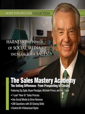 cover image of The Sales Mastery Academy