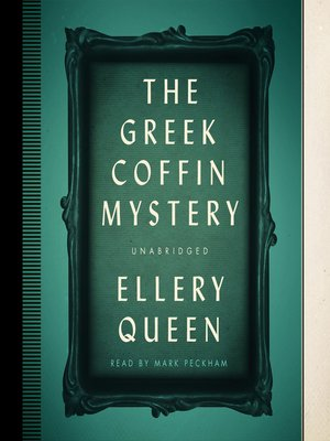 cover image of The Greek Coffin Mystery