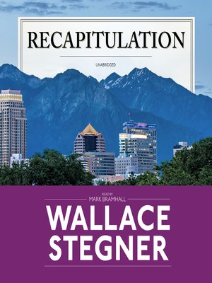 cover image of Recapitulation