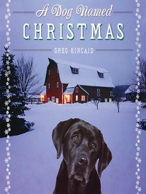 cover image of A Dog Named Christmas