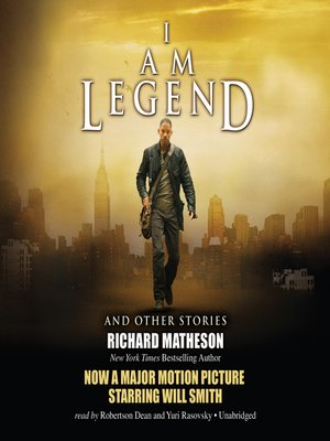 cover image of I Am Legend, and Other Stories