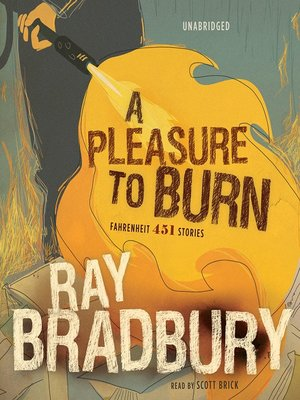 cover image of A Pleasure to Burn