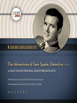 cover image of The Adventures of Sam Spade, Detective, Volume 1