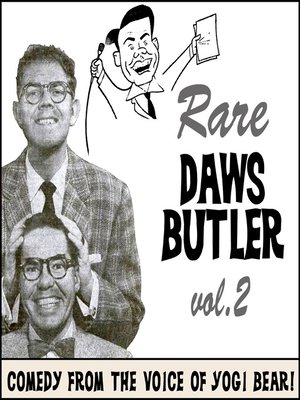 cover image of Rare Daws Butler, Volume 2