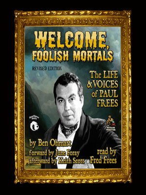 cover image of Welcome, Foolish Mortals