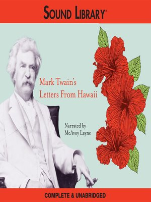 cover image of Mark Twain's Letters from Hawaii