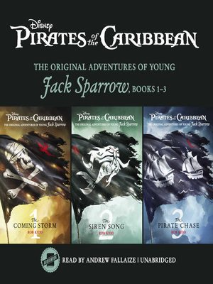 cover image of Pirates of the Caribbean: Jack Sparrow Books 1-3