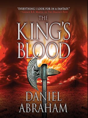cover image of The King's Blood