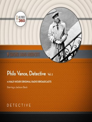 cover image of Philo Vance, Detective, Volume 2