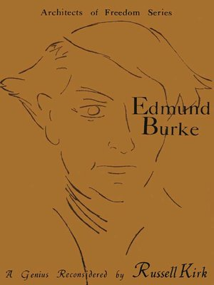 cover image of Edmund Burke
