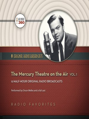 cover image of The Mercury Theatre on the Air, Volume 1