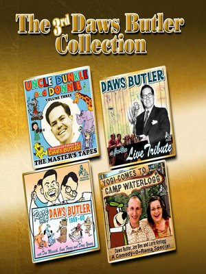 cover image of The 3rd Daws Butler Collection