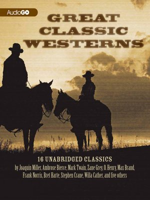 cover image of Great Classic Westerns