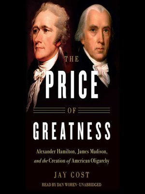 cover image of The Price of Greatness