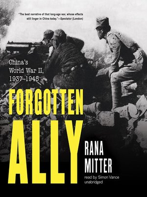 cover image of Forgotten Ally