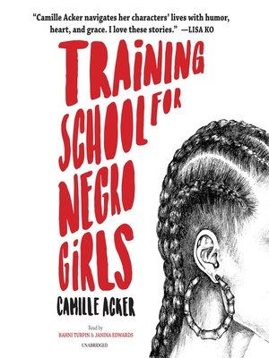 cover image of Training School for Negro Girls