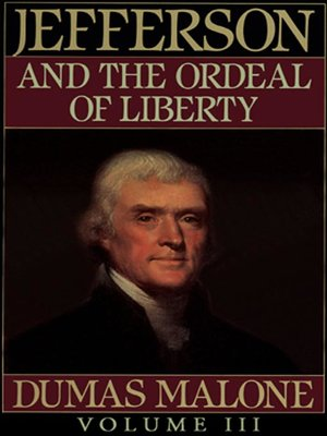 cover image of Thomas Jefferson and His Time, Volume III