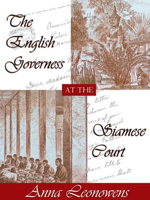 cover image of The English Governess at the Siamese Court