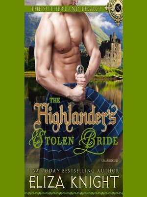 cover image of The Highlander's Stolen Bride