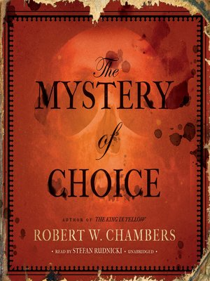 cover image of The Mystery of Choice