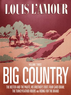 cover image of Big Country, Volume 3